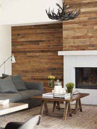 木质墙面装修效果图