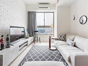 60㎡简约风单身公寓设计图  回忆的日子