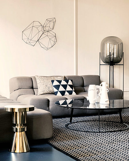 舒适后现代风沙发效果图