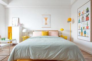 北欧风格一居室卧室效果图装修
