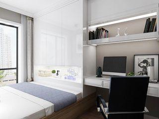 卧室榻榻米装修装饰效果图