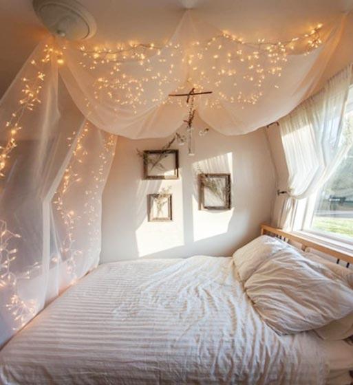 可爱系卧室装饰图片
