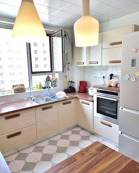 温馨北欧风厨房装潢装修图