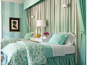 心情降温器  11款小清新卧室装修图