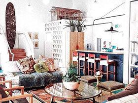 缤纷果生活  10个客厅色彩搭配图片