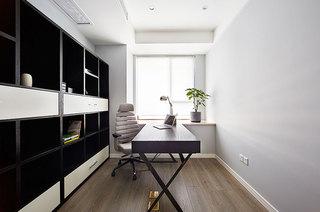 138平简约公寓书房效果图装修