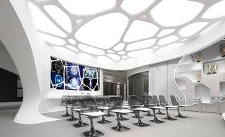 简装小会议室效果图