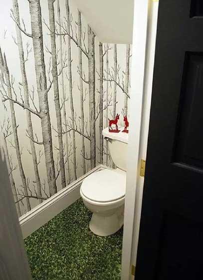 迷你卫生间设计平面图