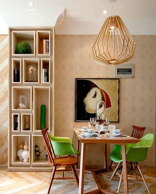65平小户型样板房餐厅装饰图