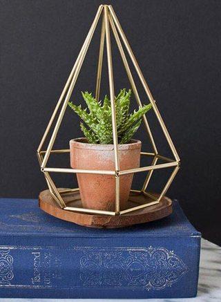 几何花架设计装饰图片