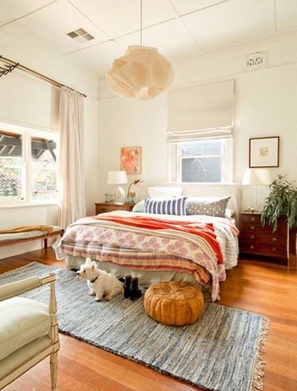 休闲卧室装修装饰图片