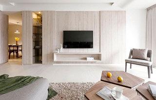 110平米日式风格旧房改造装修
