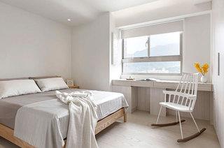 舒适简约日式公寓卧室效果图