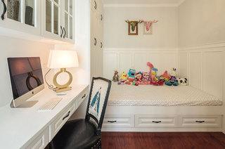 简美式地台儿童房装饰设计