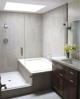 卫生间干湿分离效果图装修