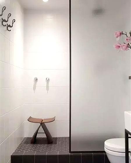卫生间淋浴房装饰图