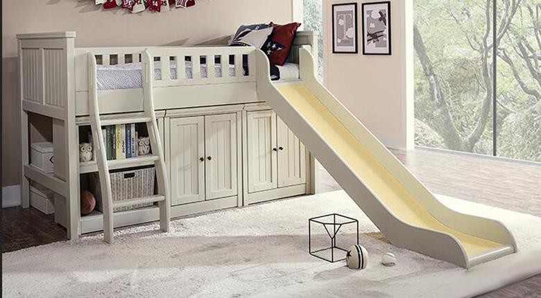 滑梯儿童床的实用性 要如何选购