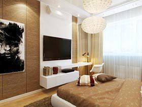 有你性格的家居  10个现代卧室设计布置图