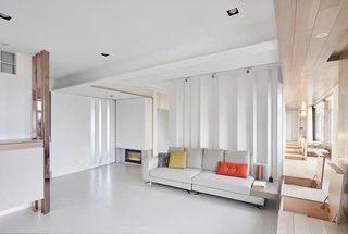 115㎡现代三居室整体效果图