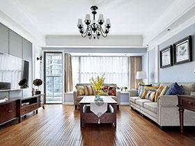 170平美式风格四房装修效果图 精致温馨