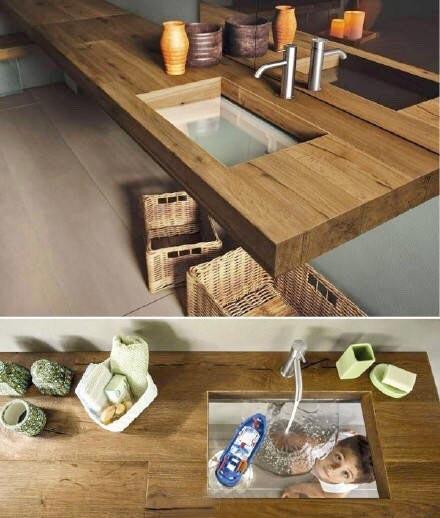创意水槽布置欣赏图