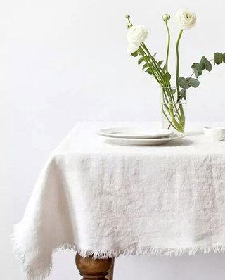 美式风格餐厅桌布图片