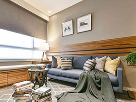 160平简约风格三居室装修 家的温度与表情