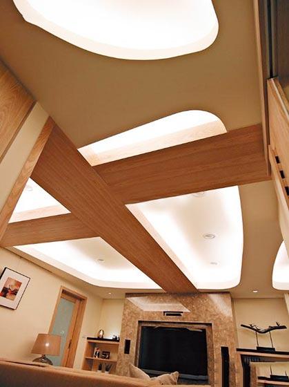 木质吊顶装修装饰效果图