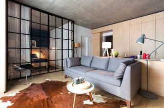 一室一厅小户型客厅效果图