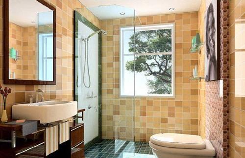 2016卫浴装修效果图 打造自然空间