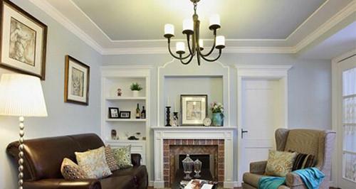 美式客厅吊顶效果图 看看是否合您眼缘图片