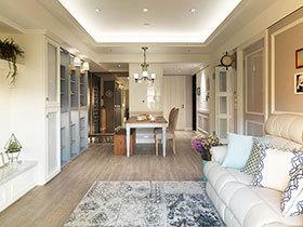 美式风格四房装修效果图 传承古典式优雅