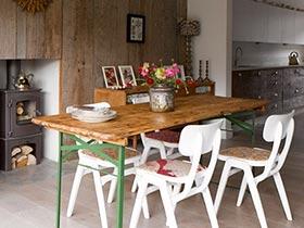 自然乡村田园风餐厅装潢欣赏