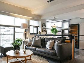 160平简约风格四房装修效果图 家的温度感