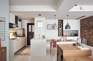 148平四房两厅厨房装修图片