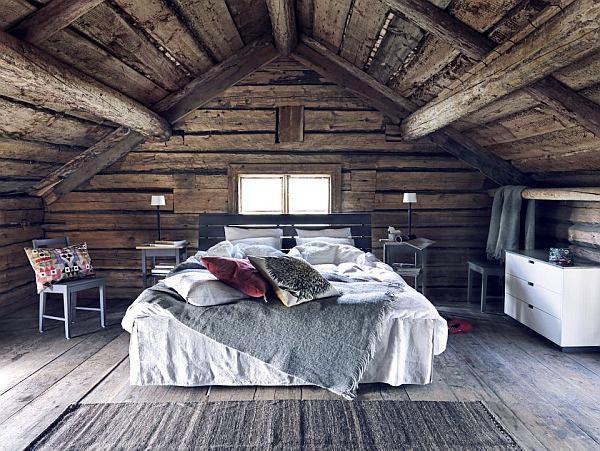 木质房屋卧室设计图