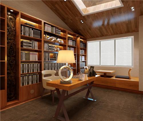 中式书房装修效果图 超具格调的装修设计
