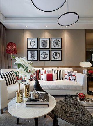 客厅色彩搭配装修装饰效果图