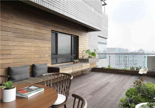 开放式阳台装修效果图 打造我的专属小乐园