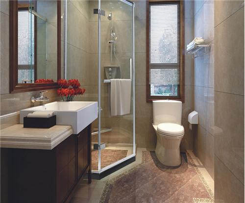 4平米卫生间装修效果图 小空间的精打细算超重要