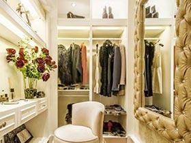 美美小空间  10个小衣帽间装修图片