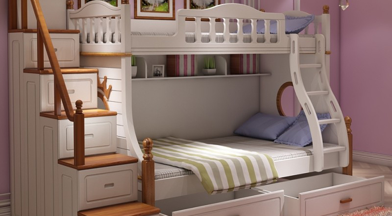 实木高低床好么 该怎么选实木高低床
