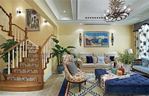 地中海式裝修讓家里也變的藍天海浪【寶雞裝飾公司電話】
