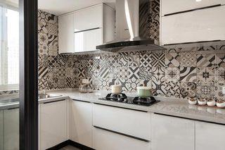 厨房背景墙设计装修装饰图