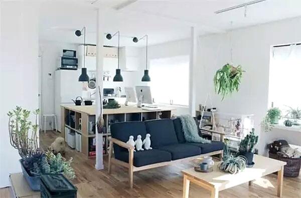 日式风格小户型客厅装修