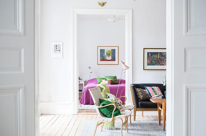 94平一居室装修木质地板装修
