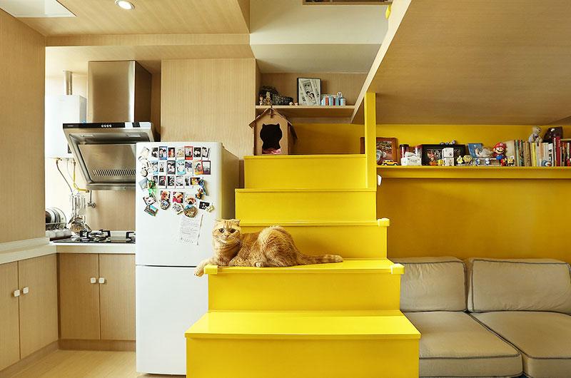 35平loft装修楼梯设计图
