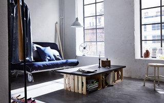 小户型沙发床摆放图片