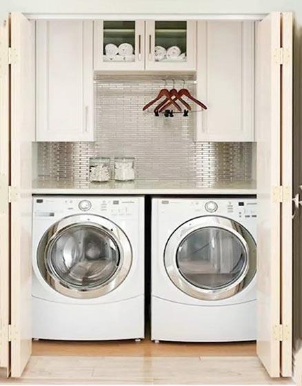洗衣房收纳装修平面图
