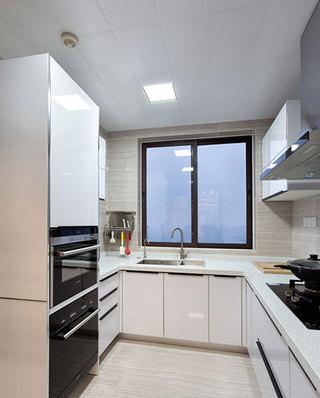 146平简约三居厨房装修实景图